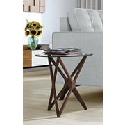 Aeon Furniture Starlight End Table; Walnut