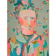 Latitude Run 'Frida' Print on Canvas; 18'' H x 14'' W x 1.5'' D