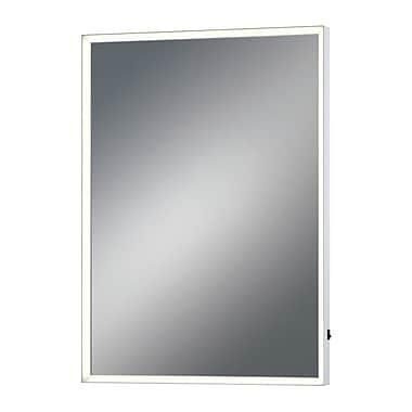 Latitude Run Rectangular LED Bathroom/Vanity Mirror; 28'' H x 20''W x 2'' D