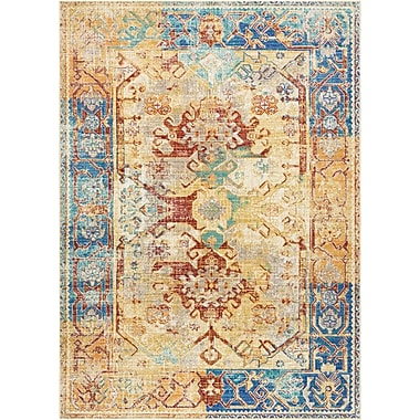 World Menagerie Devan Cream Indoor Area Rug; 5'3'' x 7'3''