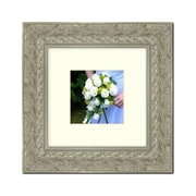 One Allium Way Silver Wood Picture Frame; 20'' x 20''