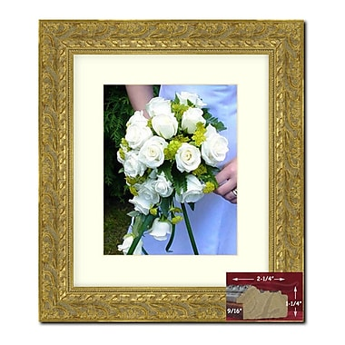 Astoria Grand Gold Wood Picture Frame; 28'' x 22''