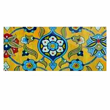 East Urban Home 'Persian Mood' Painting Print on Metal; 16'' H x 20'' W x 1'' D