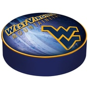 Holland Bar Stool Barstool Cushion Cover; West Virginia University
