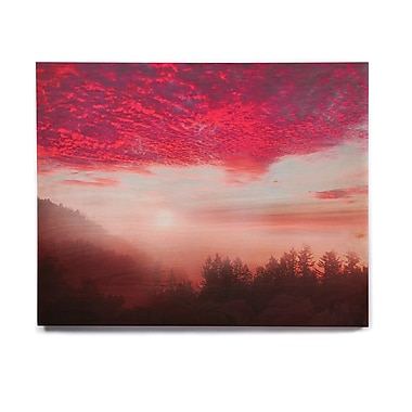 East Urban Home 'Pastel Vibes 28' Photographic Print on Wood; 16'' H x 20'' W x 1'' D