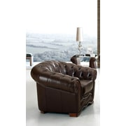 Canora Grey Barkell Leather Arm Chair