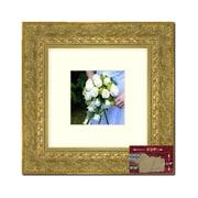 Astoria Grand Square Gold Picture Frame; 28'' x 28''