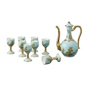 Auratic Lady Turquoia 10 Piece Beverage Serving Set