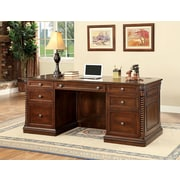 Darby Home Co Ardnaglass Traditional Wood Executive Desk