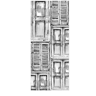 East Urban Home 'Close the Door' Graphic Art Print on Metal; 20'' H x 16'' W x 1'' D