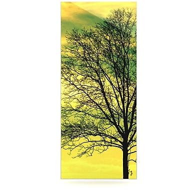 East Urban Home 'Tree Sky' Graphic Art Print on Metal; 20'' H x 16'' W x 1'' D