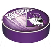 Holland Bar Stool Barstool Cushion Cover; Northwestern University