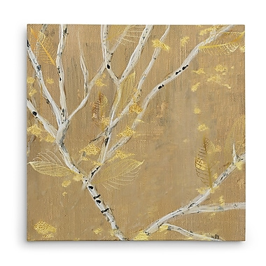 Red Barrel Studio 'Birch Wood IV' Acrylic Painting Print on Canvas; 40'' H x 40'' W x 1.5'' D
