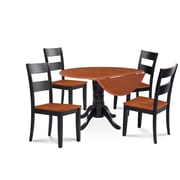 Alcott Hill Chesterton 5 Piece Carved Dining Set