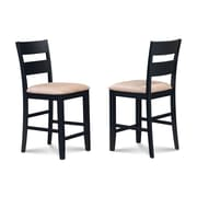 Alcott Hill Charlestown Soft Padded Dining Counter Height Side Chair (Set of 2)