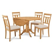 Alcott Hill Chesterton 5 Piece Carved Wood Dining Set