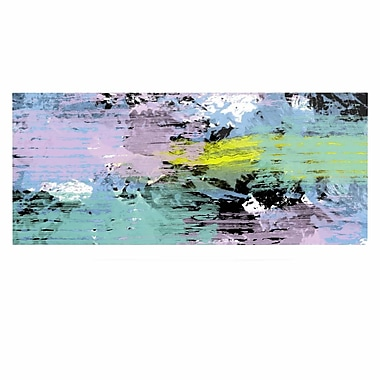 East Urban Home 'Texture' Painting Print on Metal; 16'' H x 20'' W x 1'' D