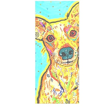 East Urban Home Terrier 'Tanner' Graphic Art Print on Metal; 20'' H x 16'' W x 1'' D