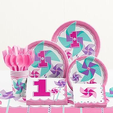 Creative Converting 81 Piece One Little Star Boy 1st Birthday Plastic/Paper Tableware Set