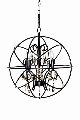 Willa Arlo Interiors Alden 4-Light Candle-Style Chandelier; Oil Rubbed Bronze WYF078281181794