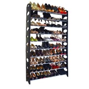 Rebrilliant 10-Tier Shoe Rack; Black