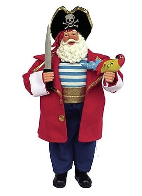The Holiday Aisle Pirate Santa Figurine &