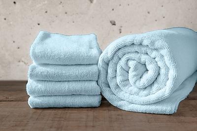 Maison Condelle W Home Bamboo Spa Bath Towel (Set of 2); Glacier Blue