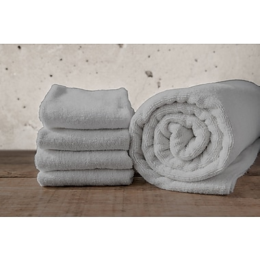 Maison Condelle W Home Bamboo Spa Bath Towel (Set of 2); Gray