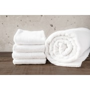 Maison Condelle W Home Bamboo Spa Bath Towel (Set of 2); White