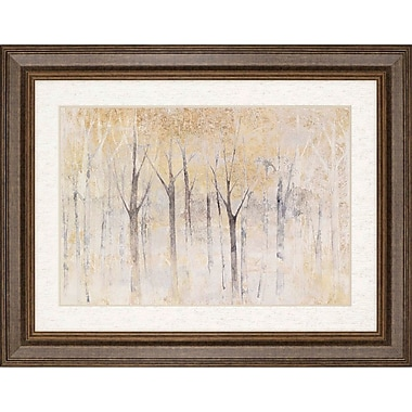 Darby Home Co 'Seasons End Gold' Framed Painting Print
