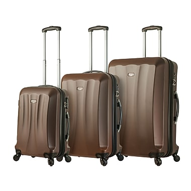 Hontus Mia Viaggi – Ensemble de 3 valises rigides à roulettes pivotantes Siena, brun (V1010-03PC-BRW)