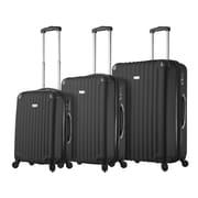 Hontus Mia Viaggi Italy – Ensemble de valises rigides à roulettes Rovigo, 3 pièces