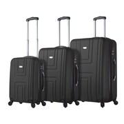 Hontus Mia Viaggi Italy – Ensemble de valises rigides à roulettes Ferrara, 3 pièces