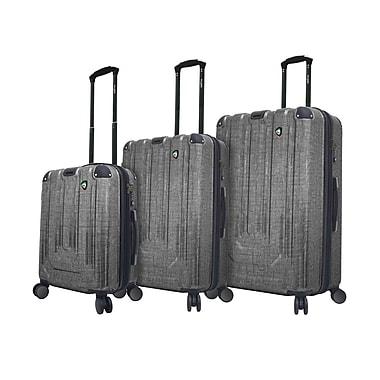 Mia Toro Italy – Ensemble de valises robustes à roulettes Polish, 3 pièces