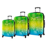 Mia Toro ITALY Love This Life-Dream Catcher Hardside Spinner Luggage Set, 3 Piece/Set (M1091-03PC-LTL)
