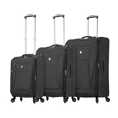 Mia Toro Italy – Ensemble de valises souples à roulettes pivotantes Nuvola, 3 pièces