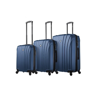 Mia Toro Italy – Ensemble de valises rigides à roulettes pivotantes Nicosia, 3 pièces