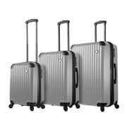Mia Toro ITALY Rotolo Hardside Spinner Luggage Set, 3 Piece/Set