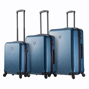 Mia Toro – Ensemble de valises rigides à roulettes pivotantes Italy Sacco, 3 pièces, bleu (M1219-03PC-BLU)