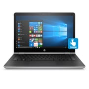 "HP Pavilion x360 14-BA007CA 14"" Touch Screen 2-in-1, 2.4 GHz Intel Core i3-7100U, 1 TB HDD, 8 GB DDR4, Windows 10 Home"