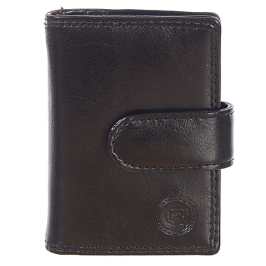 Club Rochelier Traditional Collection, Black Jumbo Card Holder (4414-2-BLK)