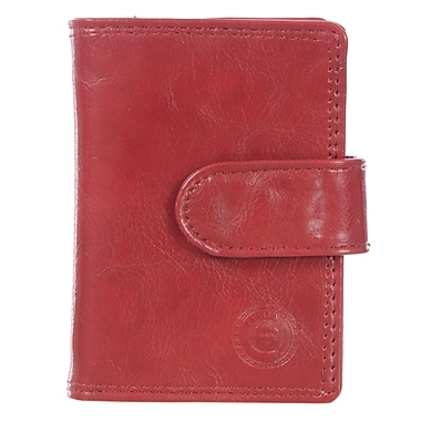 Club Rochelier Traditional Collection, Red Jumbo Card Holder (4414-2-RED)