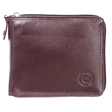 Club Rochelier Traditional Collection, Mahogany Zip Around Billfold (44300-MHGY)