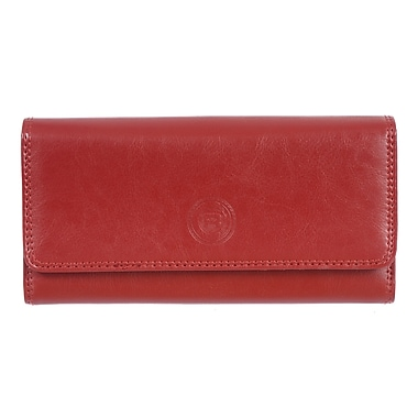 Club Rochelier – Pochette Traditional chéquier/soufflet rg (4464-1-RED)