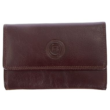 Club Rochelier Traditional Collection, Mahogany Slim Clutch (4466-25L-MHGY)