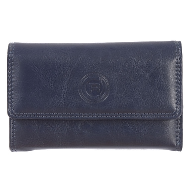 Club Rochelier Traditional Collection, Navy Slim Clutch (4466-25L-NAVY)