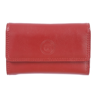 Club Rochelier Traditional Collection, Red Slim Clutch (4466-25L-RED)