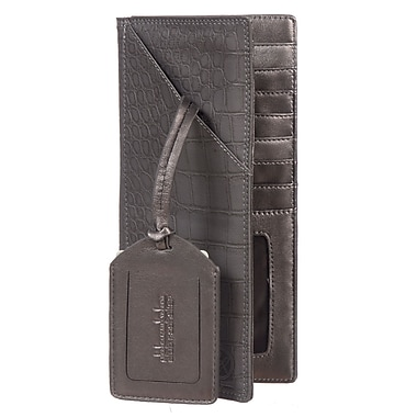 Club Rochelier Leaving on a Jet Plane Collection Grey Ticket Wallet (CL288814/LT7-G)