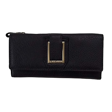 Club Rochelier Dynamite Plus Collection, Black Slim Clutch Wallet (CL6971-S1-BLK)