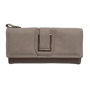 Club Rochelier Dynamite Plus Collection, Cement Slim Clutch Wallet (CL6971-S1-CEM)